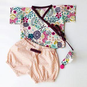 completo kimono e culottes