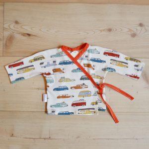 Baby kimono macchinine