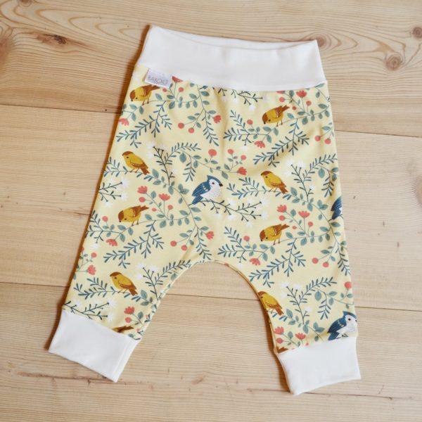 Pantaloni jersey uccellini