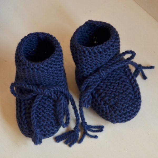 scarponcini di lana