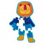 Puzzle personaggi Moulin Roty della linea Les Popipop