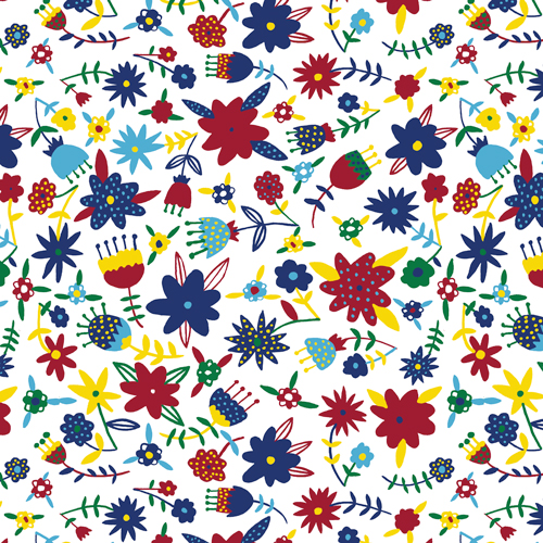 FLOWERS tessuto Cloud9 Fabrics