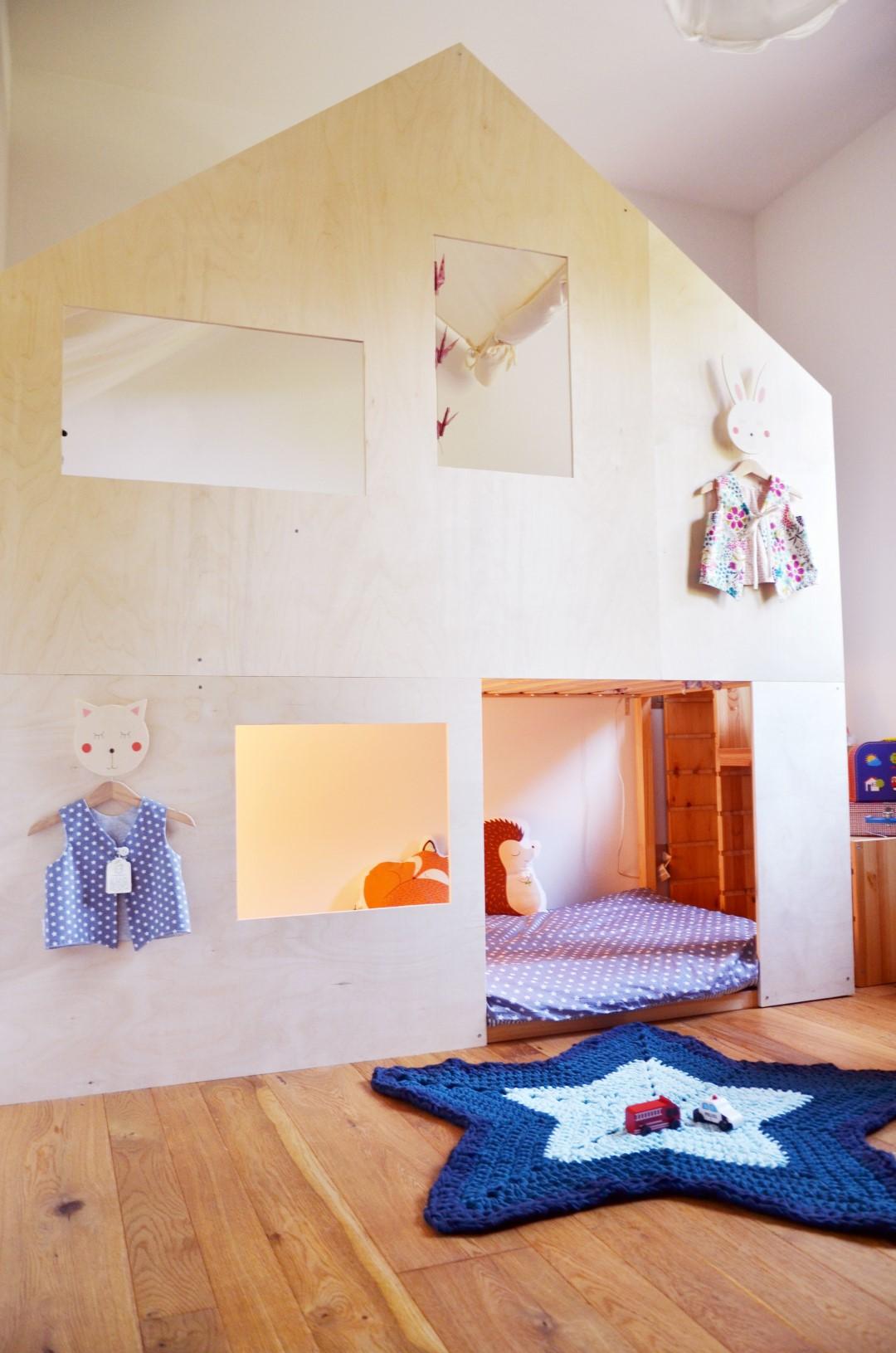 Lettino montessori il castello 3 babookidsdesign - Ikea letto montessori ...