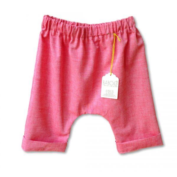 Pantaloncino pescatore rosso
