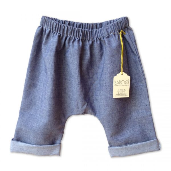 pantaloncino pescatore jeans