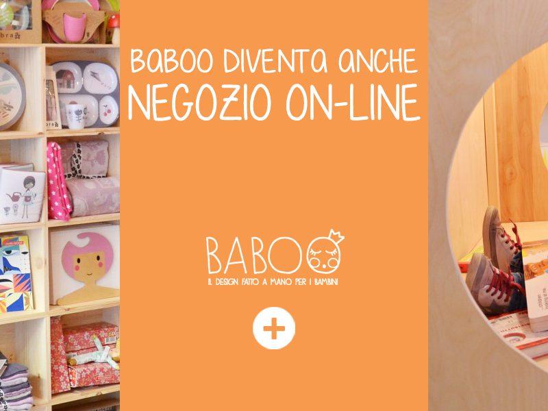 Baboo diventa anche negozio online!