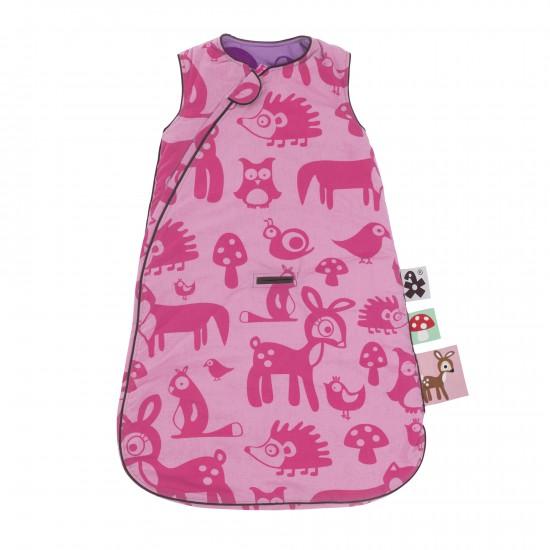 Sacco nanna Forest di Sebra pink