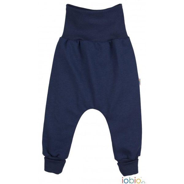 Pantaloni yoga blu Popolini