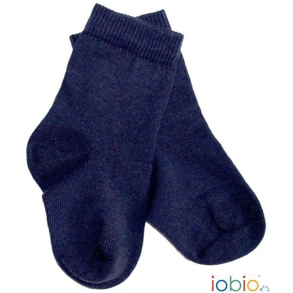 Calzini in cotone blu Popolini