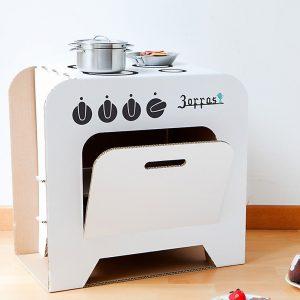 cucina di cartone zoffas