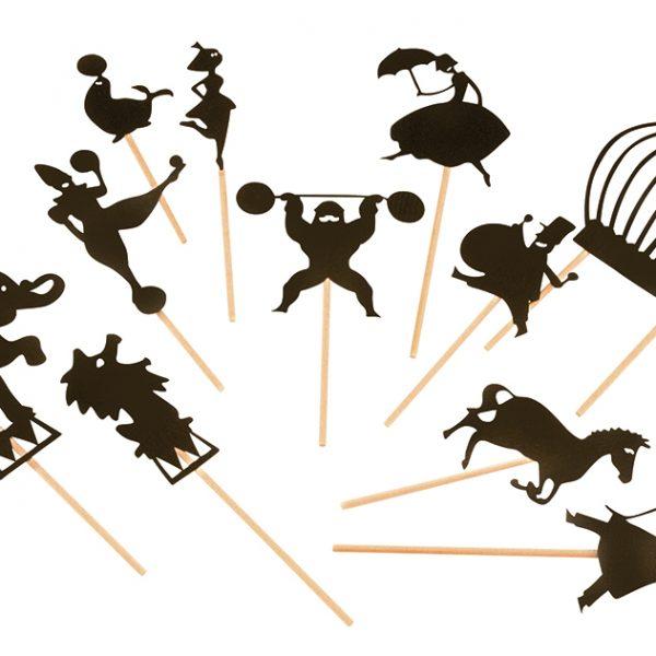 """Gioco delle ombre """"il circo"""" Moulin Roty"""