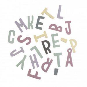 Lettere magnetiche lilla di Sebra