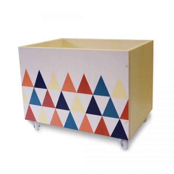 Carrello porta giochi triangolini Baboo