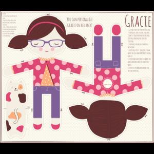 Modello per bambola Gracie