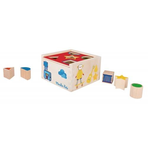 Gioco scatola con blocchi Les Popipop Moulin Roty