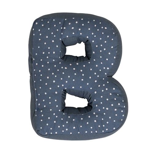Cuscino lettera B