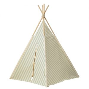 Tenda indiani righe menta