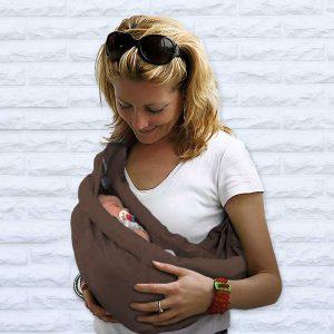 Fascia Porta Bebè 4 in 1 marrone