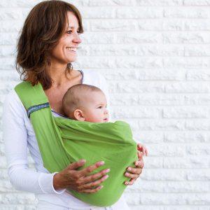 Fascia Porta Bebè 4 in 1 pistacchio
