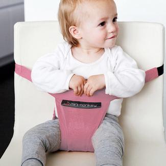 Minichair seggiolino portatile rosa