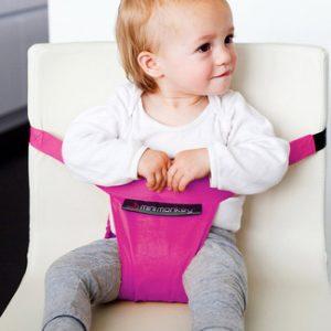 Minichair seggiolino portatile fucsia