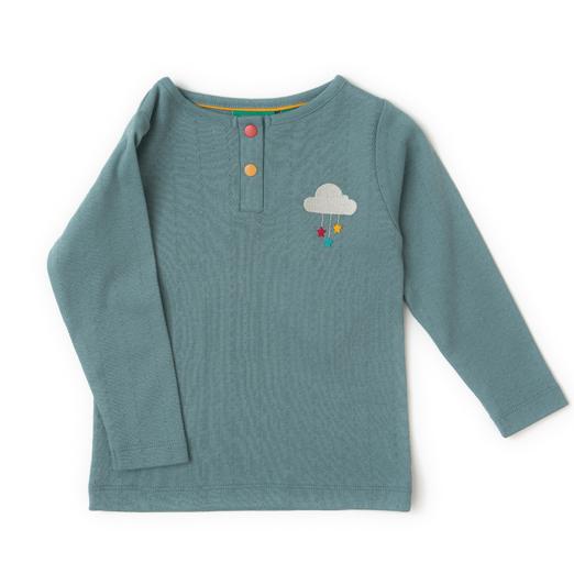 organic-girls-boys-pointelle-blue-t-shirt