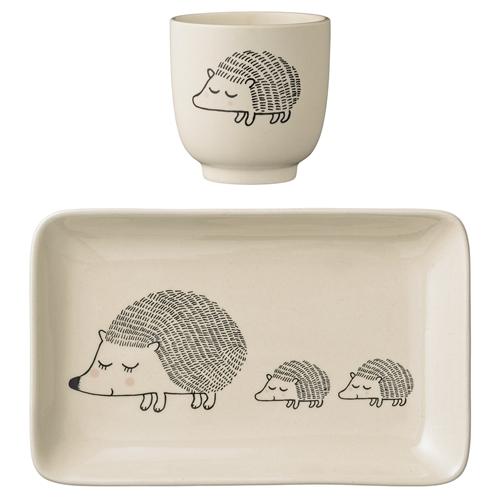 Set colazione in porcellana riccio family