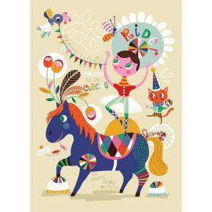 Poster Pretty Little Rider di Helen Dardik