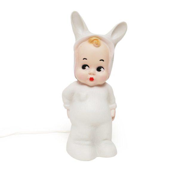 Lampada baby coniglio white