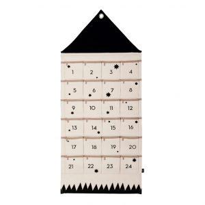 Calendario Avvento cotone telato