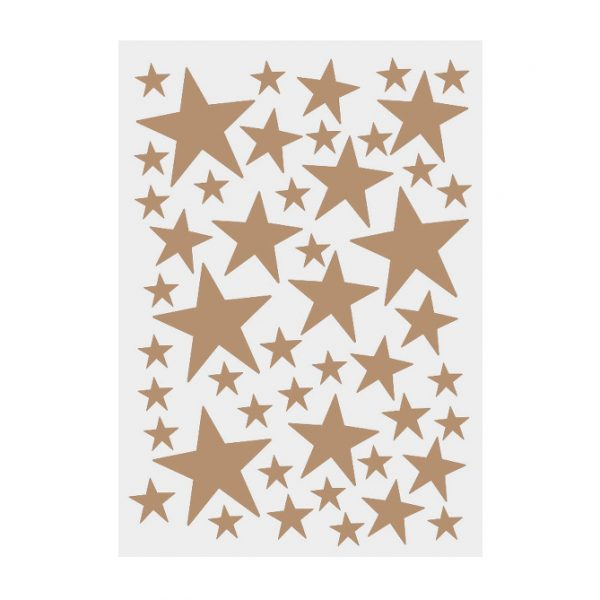 Mini stars Wallsticker oro vinile