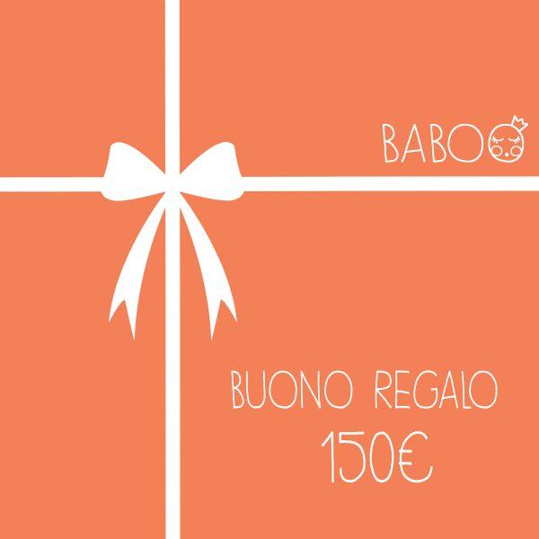 Buono regalo da Baboo 150€