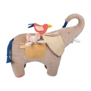 Elefante multi attività Les Papoum Moulin Roty