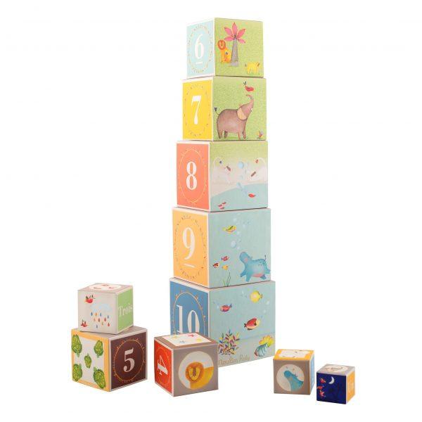 Cubi impilabili Les Papoum Moulin Roty