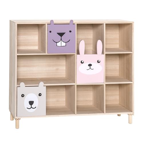 Libreria scaffale montessori woodland girl bloomingville - Porta libri montessori ...