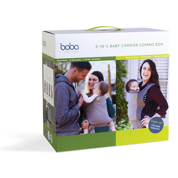2 in 1 Baby Carrier Combo Box BOBA