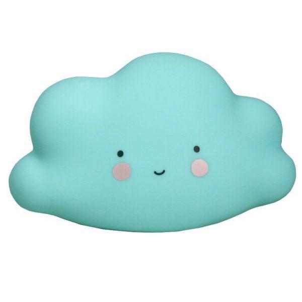 Mini lampada notturna nuvola azzurra