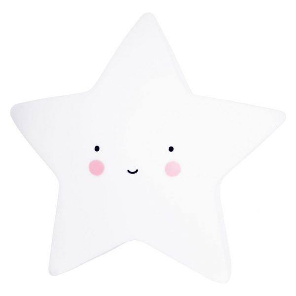 Mini lampada notturna stella bianca