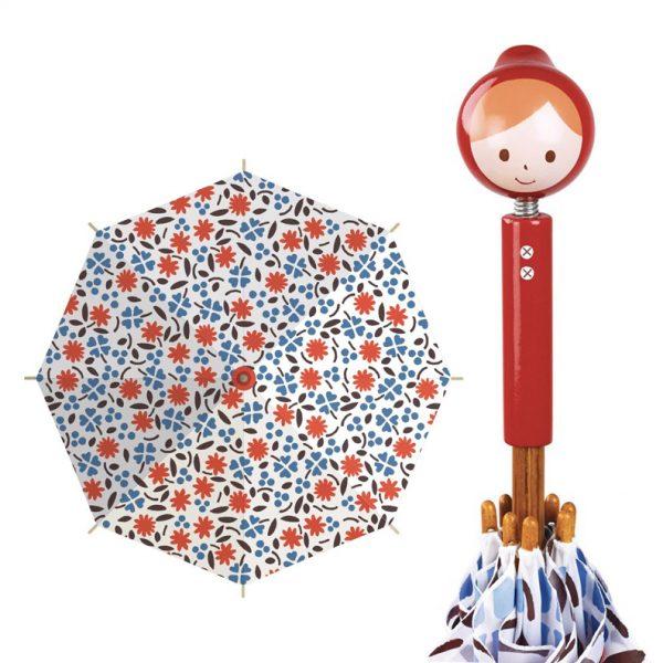 Ombrello per bambina Cappuccetto rosso Shinzi Katoh Vilac