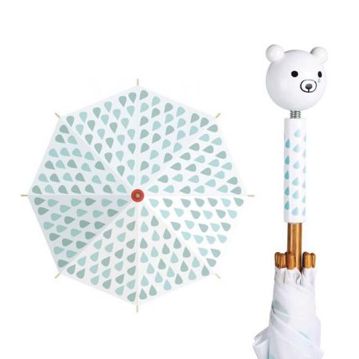 Ombrello per bambino Orso polare Shinzi Katoh Vilac