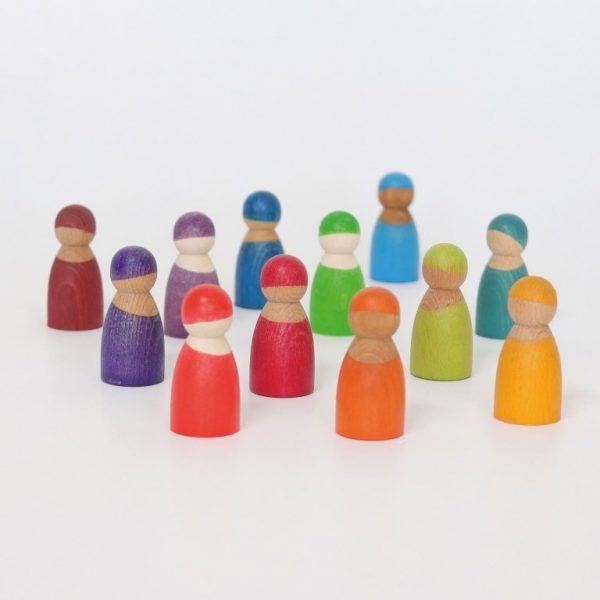Gioco 12 amici dell'arcobaleno Grimm's