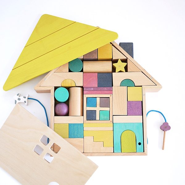 Set costruzioni legno Tsumiki gg