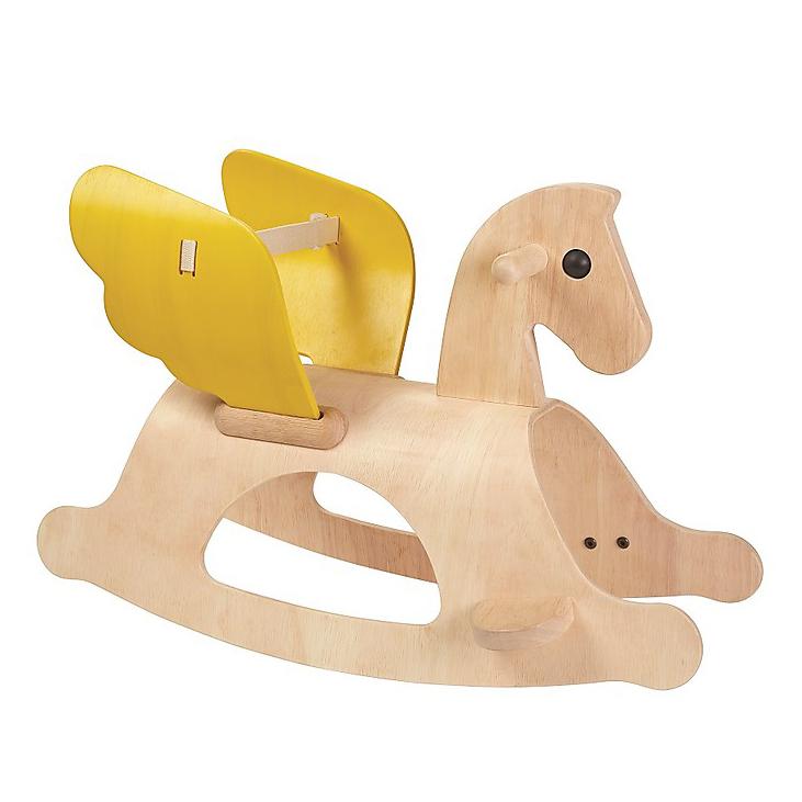 Cavallo A Dondolo Legno.Cavallo A Dondolo Legno Pegaso Alato Plan Toys Babookidsdesign