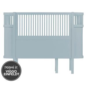 Lettino evolutivo 0-7 anni cloud blue Sebra