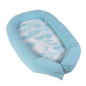 Riduttore per culla Baby nest cloud blue Sebra