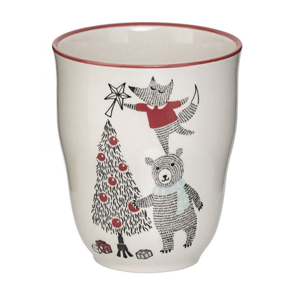 Tazza Woodland Natale Bloomingville