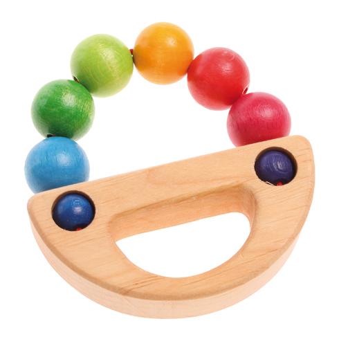 Anello dentizione legno arcobaleno Grimm's