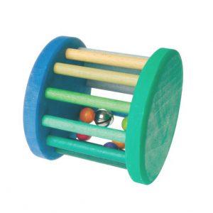 Maxi Babyroller sonaglio verde e turchese Grimm's