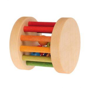 Mini Babyroller sonaglio arcobaleno Grimm's