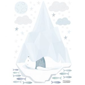 Wallsticker Orso polare Artic Dream Lilipinso
